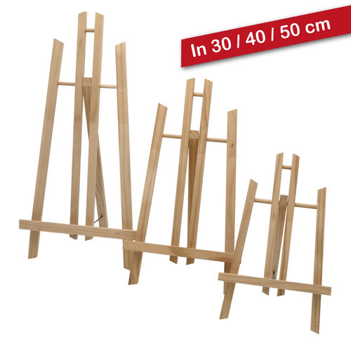 Display-Staffelei 30, 40 oder 50 cm