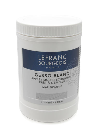 LEFRANCE BOURGEOIS Gesso, weiß 1 Ltr.